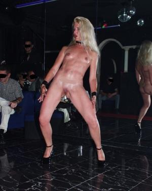 Coco french Hooker and Stripper in club