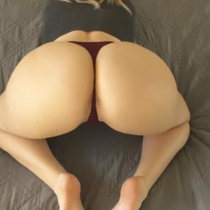 Good time with phatassed blond gf