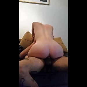 Amateur wife rides her lover hubby filming