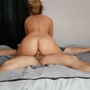 Cuckold wife rides her lover bareback